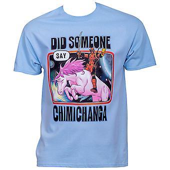 Deadpool Did Some Say Chimichanga T-Shirt
