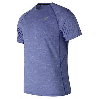 Miesten lyhythihainen T-paita New Balance MT81095 TRY Blue/S