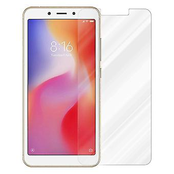 Cadorabo Tank Foil for Xiaomi RedMi 6 - Protective Film in KRISTALL KLAR - Tempered Display Protective Glass in 9H Hardness with 3D Touch Compatibility