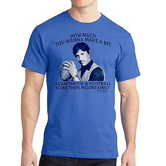 Napoleon Dynamite Sports Mountains Men's Royal Blue Funny T-shirt NEW Sizes S-2XL