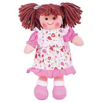 ביגגים צעצועים מפוארים איימי (28cm) בובת סמרטוטי צעצוע לחבק