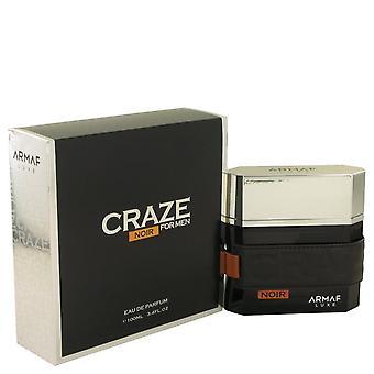 Armaf Craze Noir Eau De Parfum Spray By Armaf 3.4 oz Eau De Parfum Spray