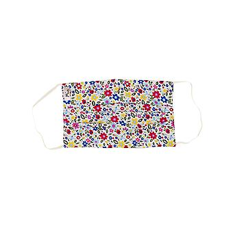 Mio SB2 Daisy Floral Multi Floral Cotton Face Mask with Removable Nose Wire