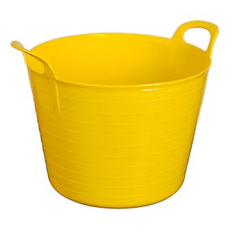 Sealey Sft40Y Heavy-Duty Flexi Tub 40Ltr - Yellow