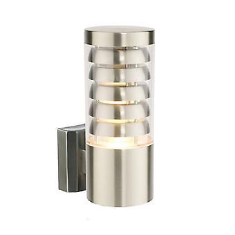 Lámpara de pared Tango, acero inoxidable y plástico
