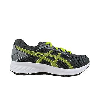 Asics Jolt 2 GS Grey/Lime Mesh Boys Lace Up Sports Trainers