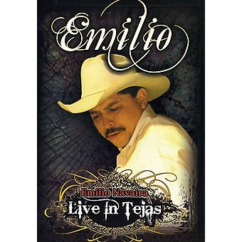 Emilio Navaira - Live in Tejas [DVD] USA import