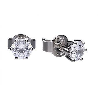 Diamonfire E5583 Claw Set 0.5ct Solitaire Earrings