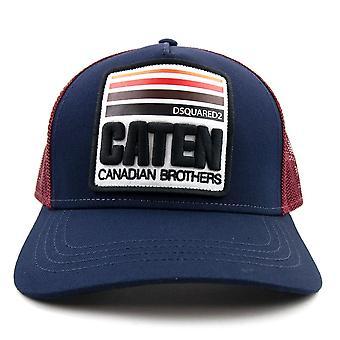 Dsquared2 Caten Mesh Cap Navy