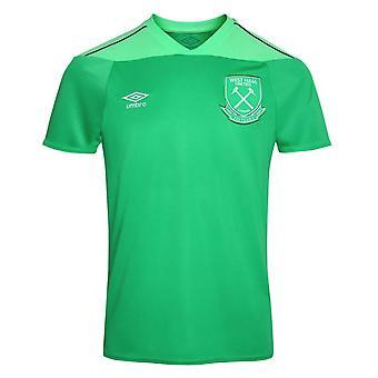 2020-2021 West Ham Home Goalkeeper Shirt (Kids)