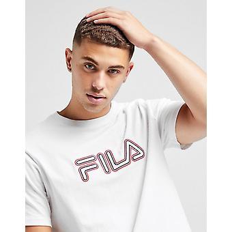 Nieuwe Fila Men's Eli Short Sleeve T-shirt Wit