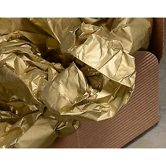 3 Sheets of Best Quality Gold Tissue Paper   Gift Wrap Supplies