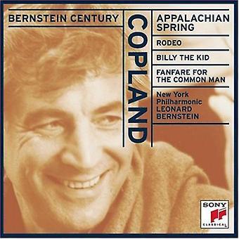 A. コープランド - コープランド: アパラチアの春;ロデオ;ビリーザ キッド。普通の人 [CD] 米国のためのファンファーレをインポートします。