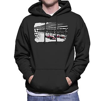 Motorsport Images Rubens Barrichello F2002 Men's Hooded Sweatshirt