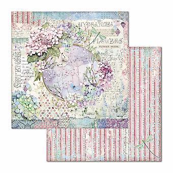 Stamperia Hortensia Girlande 12 x 12 Zoll Papierblätter (10pcs) (SBB696)