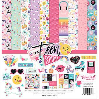 Echo Park Teen Spirit Girl 12x12 Inch Collection Kit
