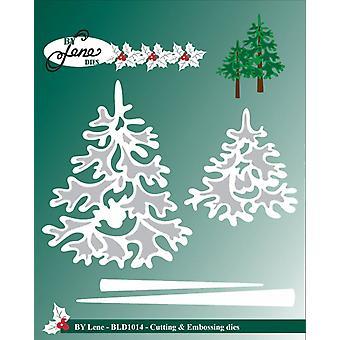 Av Lene Metal Dies Christmas Trees