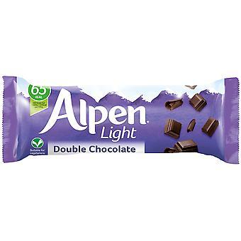 Alpen Light Double Chocolate Bars