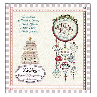 DayKa Trade Feliz Navidad 8x8 Inch Paper Pad