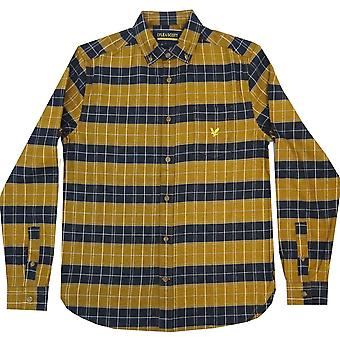 Lyle and Scott Vintage Polo Shirts Archive Brushed Check Shirt