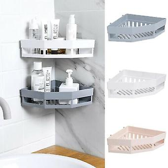 Hot Bathroom Corner Corner Shelves Shampoo Holder - Organizador do Chuveiro de Bagunça, Parede