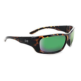 Strikezone - polarized mirrored mens rubber gripped sunglasses