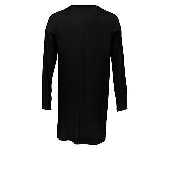 Dennis Basso Regular Cardigan Soft Touch W/ Embellishment Black A373119