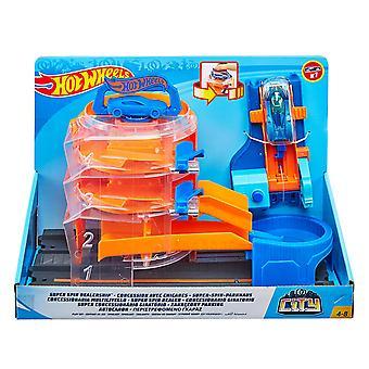 Hot Wheels GBF95 City Sentrum Super Spin Forhandler