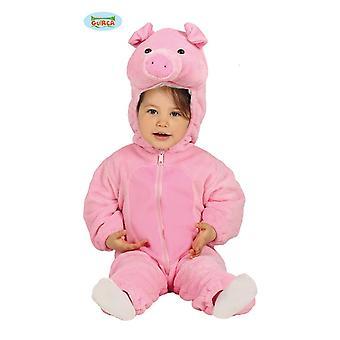 roz Guiţ Baby costume de fermă salopetă