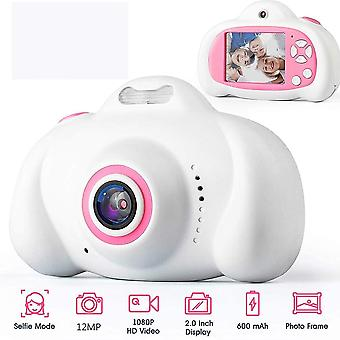 Câmera de brinquedo Mini 2.0 Polegadas Hd Ips-screen, Kids Camera 1080p Video-recorder Flash