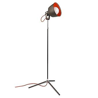 Leds-C4 Vintage - 1 Light Floor Lamp Grey, Orange, E27