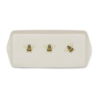 Cooksmart Bumble Bees Bamboo Small Tray