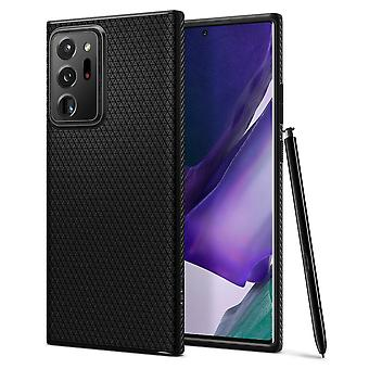 Liquid Air Black Mat Hull voor Samsung Galaxy Note20 Ultra