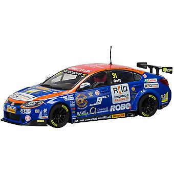 Scalextric C3736 MG BTCC MG6-Jack Goff - Brands Hatch 2015