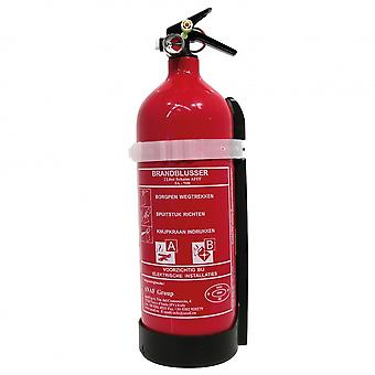 fire extinguisher ABF with manometer foam 2 L red 25 cm