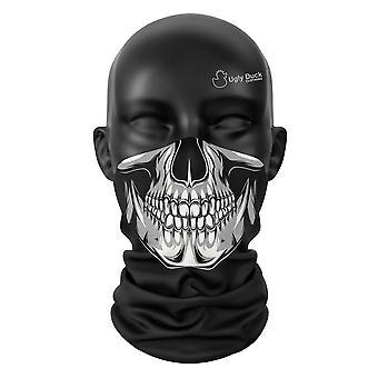 Skelett Lächeln Halloween Gesicht Maske Unisex Snood Schal Kopfbedeckung Wrap Buff Cover