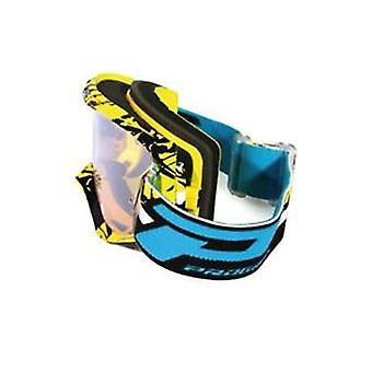 Progrip 3450-16FLBKYL Progrip Goggles - 3450 Fluorescent Yellow/Blk