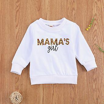 Autumn Active Casual  0-3y Baby Girls Sweatshirts Pullovers