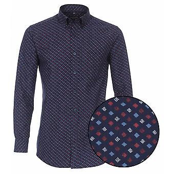 CASA MODA Casa Moda Fashion Diamond Print Shirt