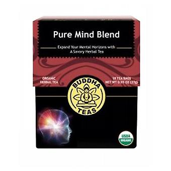 Buddha Teas Organic Pure Mind Blend Tea, 18 Bags