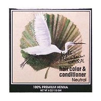 Light Mountain Natural Hair Color and Conditioner, Neutral 4 Oz