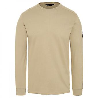T-shirt The North Face LS Fine 2 Tee Beige