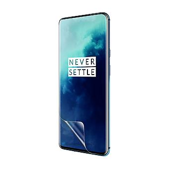 Celicious Vivid Flex Invisible Glossy 3D Screen Protector Film Compatible with OnePlus 7T Pro [Pack of 3]