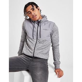 Nieuwe McKenzie Men's Baxley Poly Zip Through Hoodie Grey