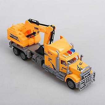 Electronic Car Fashioned Toy, Single Bucket Excavator Educational Fun Adequate