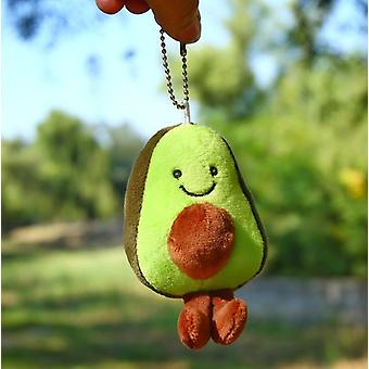 Avocado Keychain, Fruits Stuffed Plush Toy-child Christmas