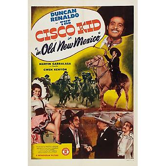 The Cisco Kid In Old New Mexico Movie Poster Print (27 x 40)