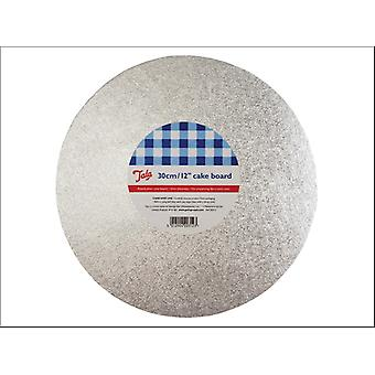 Tala Round Cake Board Argent 12in 10A20312