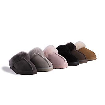 Aus Wooli Australia Water-Resistant Unisex Genuine Australian Sheepskin Wool Slippers