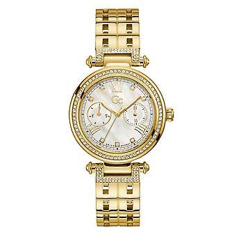 GC Y78002L1MF Primechic Gold Tone Wristwatch